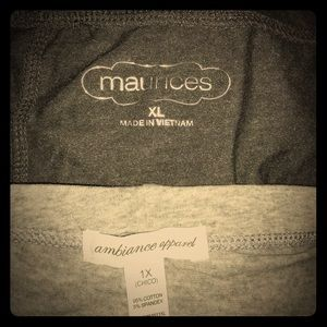 Ambiance Pants - New quality leggings, in grey tones.  Both NWOT.